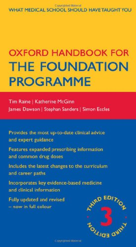 9780199606481: Oxford Handbook for the Foundation Programme (Oxford Medical Handbooks)