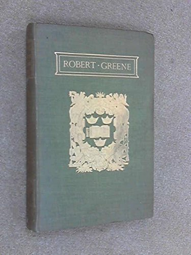 9780199607655: The Plays and Poems of Robert Greene Vol 1