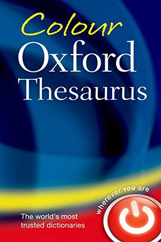 9780199607921: Colour Oxford Thesaurus