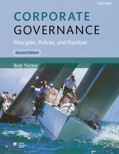 9780199607969: Corporate Governance: Principles, Policies and Practices