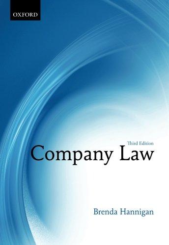 9780199608027: Company Law