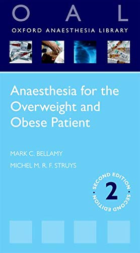 9780199608393: Anaesthesia for the Overweight and Obese Patient