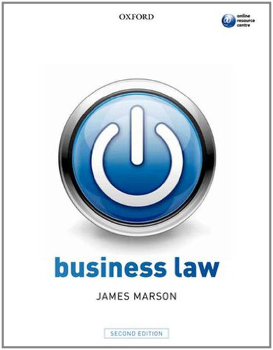 9780199608706: Business Law