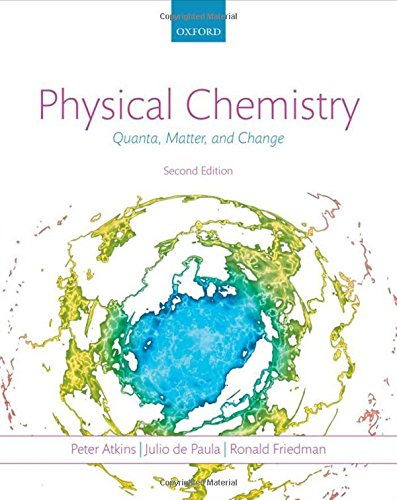 9780199609819: Physical Chemistry: Quanta, Matter, and Change