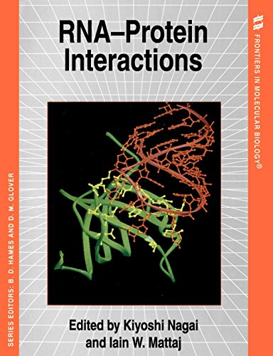 9780199635047: RNA-Protein Interactions (Frontiers in Molecular Biology)