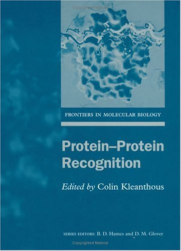 9780199637614: Protein-Protein Recognition (Frontiers in Molecular Biology)