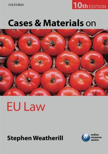 9780199639830: Cases and Materials on EU Law