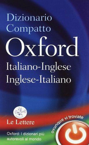 9780199640058: Dizionario compatto Oxford italiano-inglese, inglese-italiano