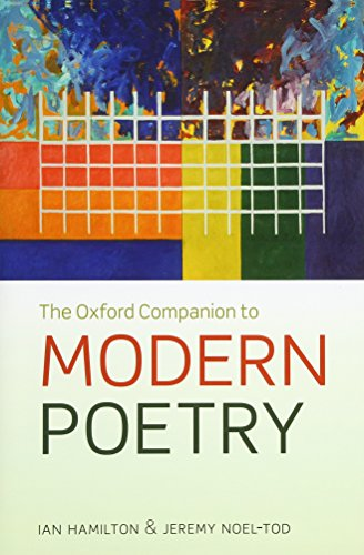 9780199640256: The Oxford Companion to Modern Poetry (Oxford Paperback Reference)