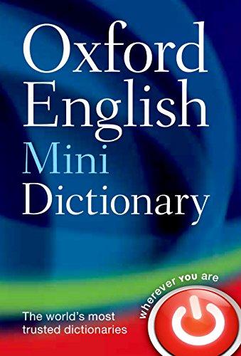9780199640966: Oxford English Mini Dictionary