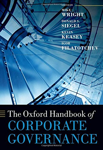 9780199642007: The Oxford Handbook of Corporate Governance (Oxford Handbooks in Business and Management)