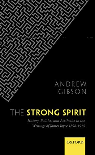 9780199642502: The Strong Spirit: History, Politics and Aesthetics in the Writings of James Joyce 1898-1915