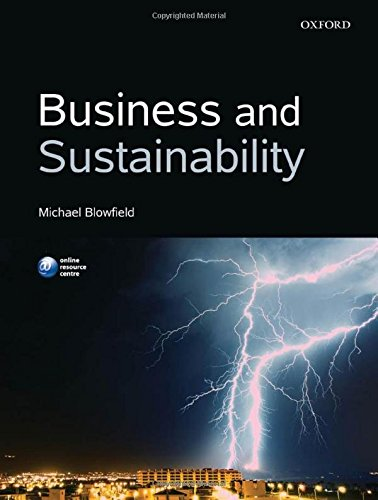 9780199642984: Business and Sustainability
