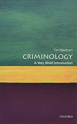 9780199643257: Criminology: A Very Short Introduction (Very Short Introductions)