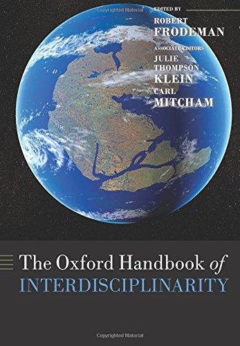 9780199643967: The Oxford Handbook of Interdisciplinarity (Oxford Handbooks in Biology)