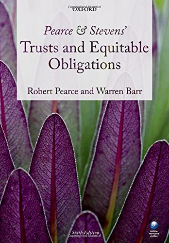 9780199644452: Pearce & Stevens' Trusts and Equitable Obligations