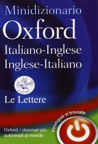 9780199644773: Minidizionario Oxford italiano-inglese, inglese-italiano