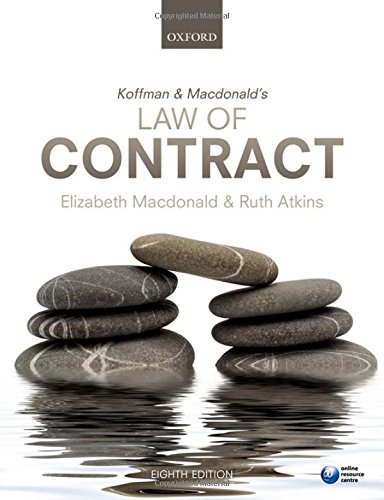 9780199644834: Koffman & Macdonald's Law of Contract