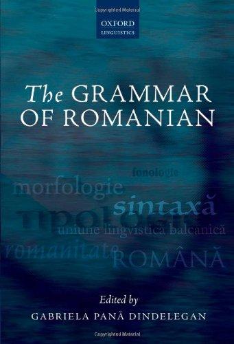 9780199644926: The Grammar of Romanian (Oxford Linguistics)