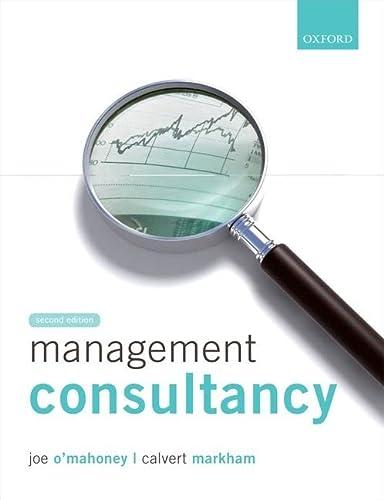 9780199645473: Management Consultancy