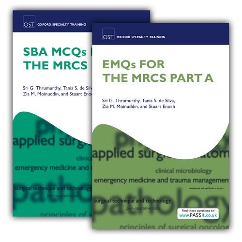 9780199645626: SBA MCQs and EMQs for the MRCS Part A Pack (Oxford Specialty Training: Revision Texts)