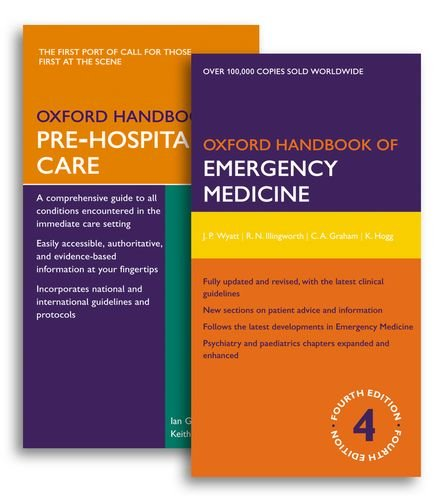 9780199645961: Oxford Handbook of Emergency Medicine Fourth Edition and Oxford Handbook of Pre-Hospital Care Pack (Oxford Handbooks)
