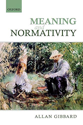 9780199646074: Meaning and Normativity
