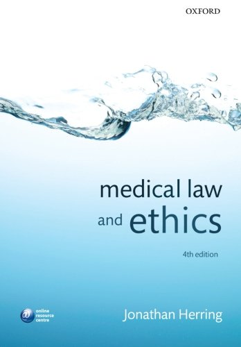 9780199646401: Medical Law and Ethics