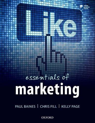 9780199646500: Essentials of Marketing
