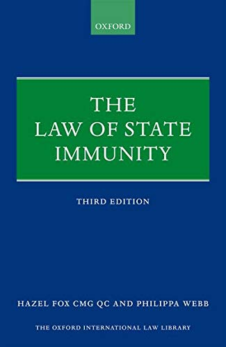 9780199647064: The Law of State Immunity (Oxford International Law Library)