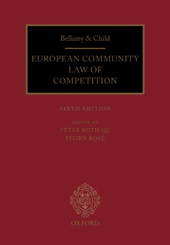 9780199650613: Bellamy and Child: European Community Law of Competition: 2012 Pack