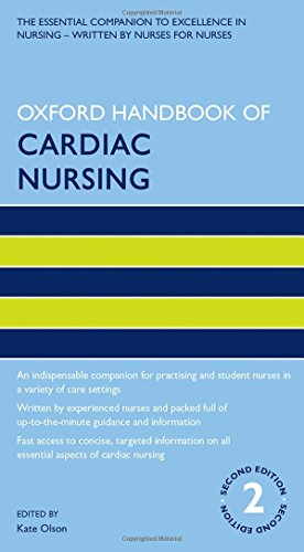 9780199651344: Oxford Handbook of Cardiac Nursing (Oxford Handbooks in Nursing)