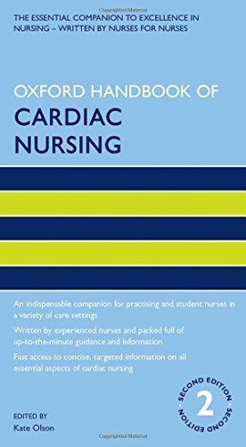 9780199651344: Oxford Handbook of Cardiac Nursing (Oxford Handbooks in Nursing)