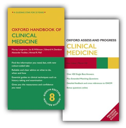 9780199651665: Oxford Handbook of Clinical Medicine Eighth Edition and Oxford Assess and Progress Clinical Medicine Pack (Oxford Medical Handbooks)