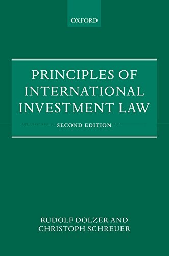 9780199651801: Principles of International Investment Law