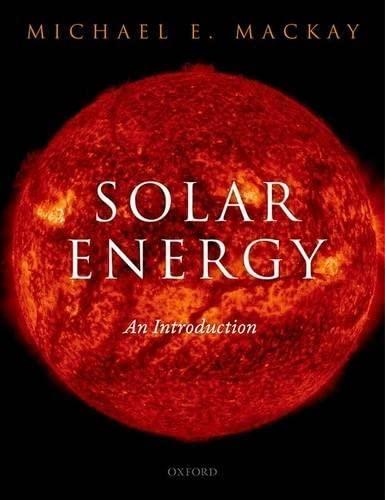 9780199652105: Solar Energy: An Introduction