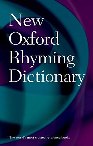 9780199652464: New Oxford Rhyming Dictionary