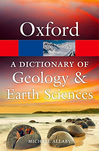 9780199653065: A Dictionary of Geology and Earth Sciences