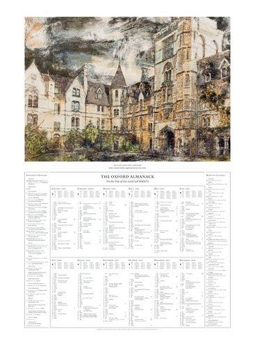 9780199653171: Oxford Almanack 2013 OUAS Poster (Oxford University Almanack Series)