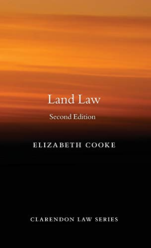 9780199653225: Land Law (Clarendon Law Series)