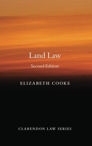 9780199653232: Land Law (Clarendon Law Series)