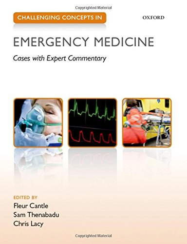 9780199654093: Challenging Concepts in Emergency Medicine: Cases with Expert Commentary