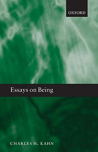 9780199654352: Essays on Being