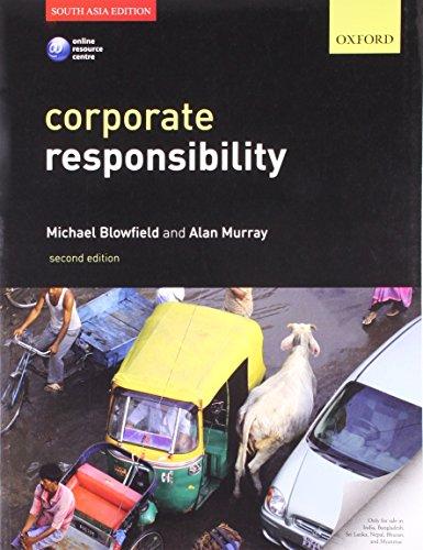 9780199655007: Corporate Responsibility