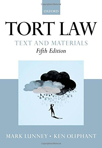 9780199655380: Tort Law: Text and Materials