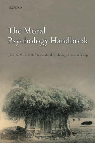 9780199655489: The Moral Psychology Handbook