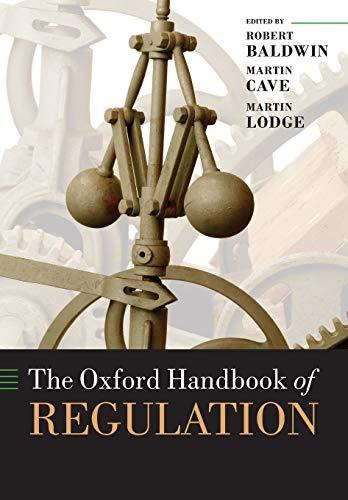 9780199655885: The Oxford Handbook of Regulation