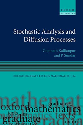 9780199657063: Stochastic Analysis and Diffusion Processes