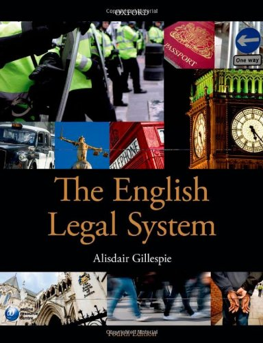9780199657094: The English Legal System