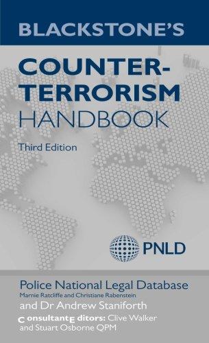 9780199658091: Blackstone's Counter-Terrorism Handbook